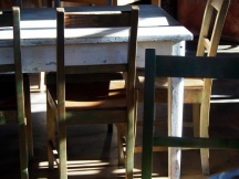 Rustic furniture, Fleurs