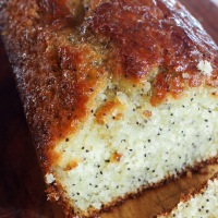 Lemon, Lime and Poppy Seed Cake with Books