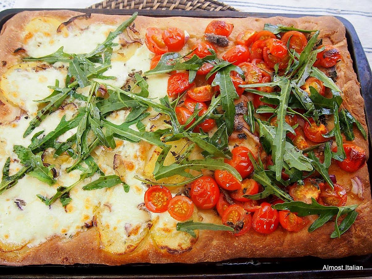 A foccaccia or a pizza?