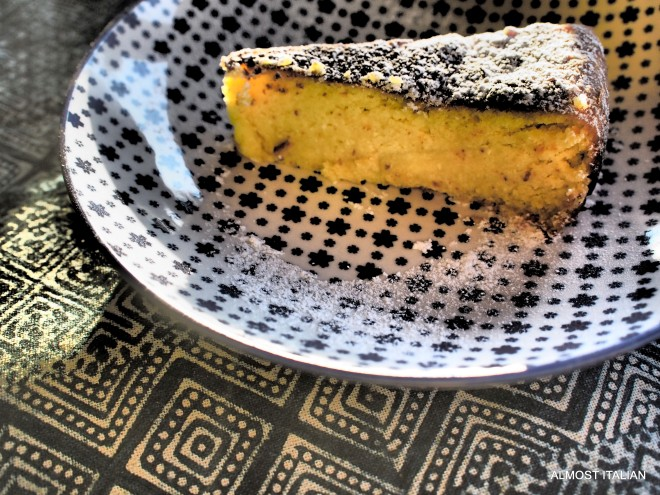 Lemon, Ricotta and Almond Cake