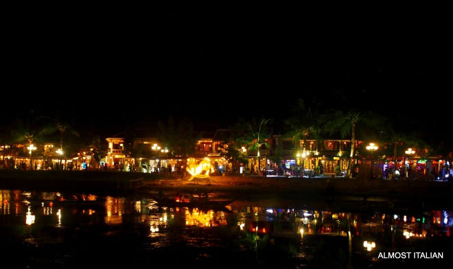 Night Time views Hoi An