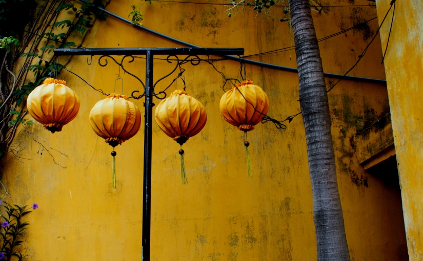 Yellow is the Colour of Hội An,Vietnam