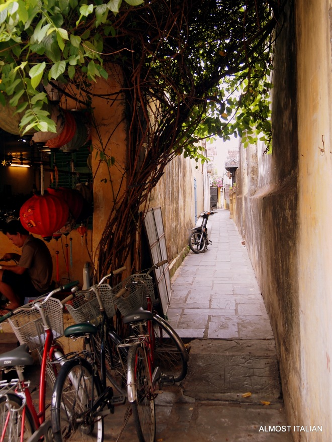 Another narrow lane, Hoi An, Vietnam