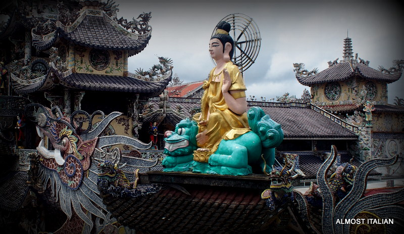 Linh Phuoc Pagoda, Dalat,Vietnam