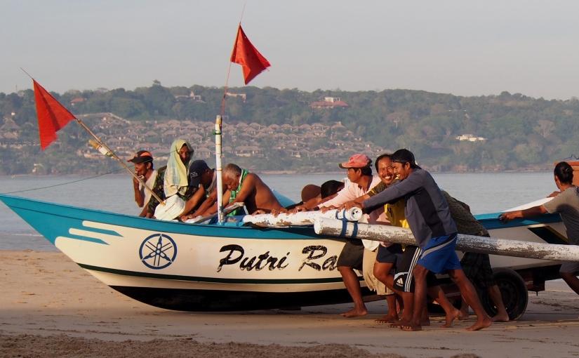 Jimbaran Bay, Bali. A Fishing CommunityWakes