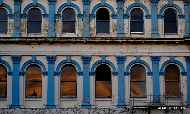 Decaying Victorian Buildings, Invercargill, New Zealand