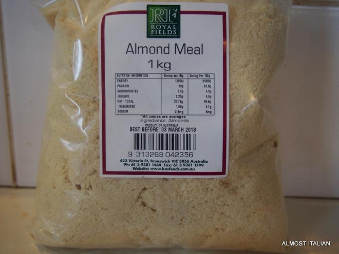 almond mealA