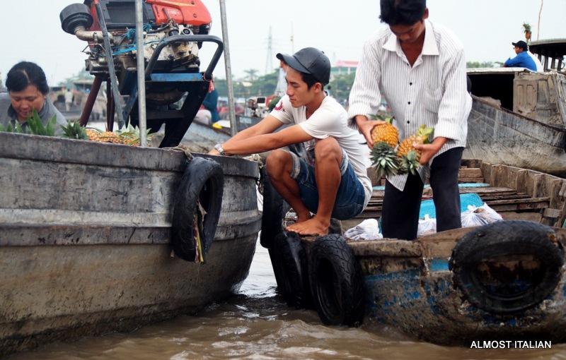 Floating Market, Cần Thơ, MekongDelta.