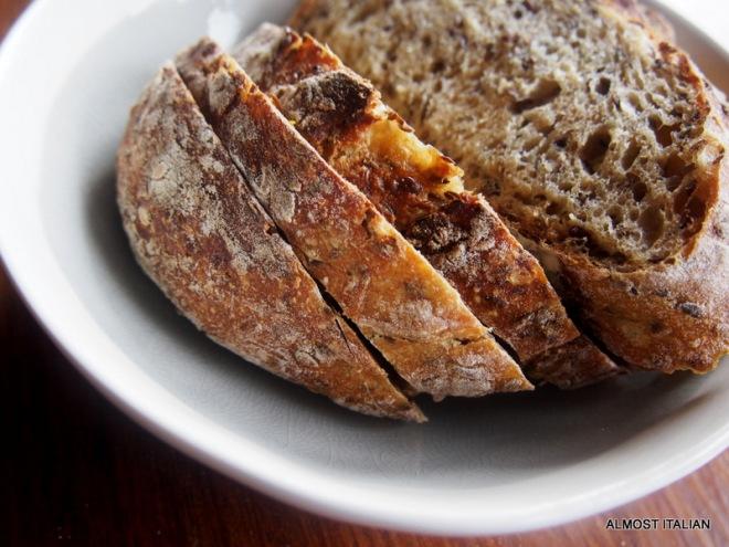 The Finn, a moist loaf.
