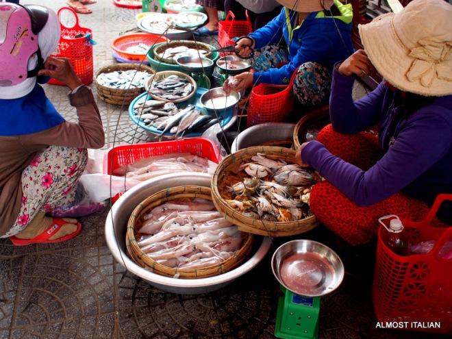 Fish for sale, Hội An Central Market, Vietnam