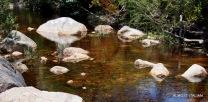 old waterways and creeks, Grampians