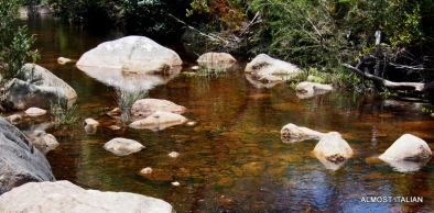 old waterways and creeks, Grampians