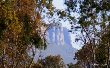 View of the Grampians from Dunkled