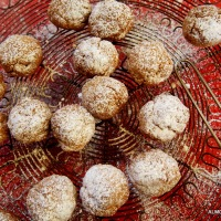 More Christmas Balls. Almond Flowers from Agrigento