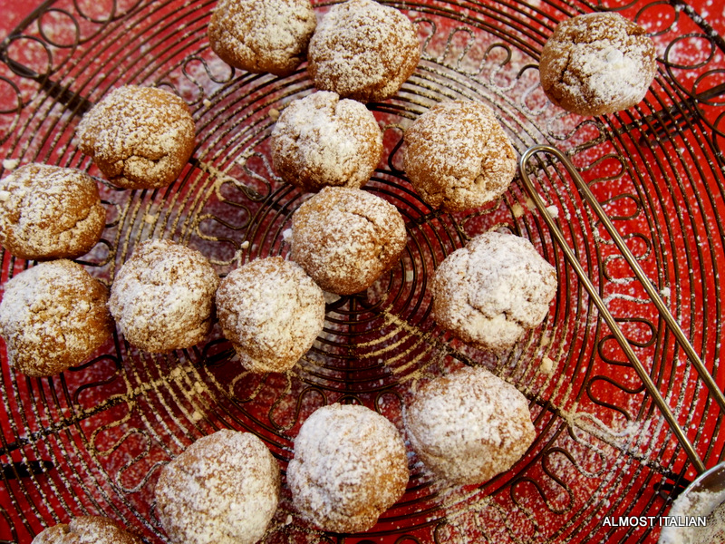More Christmas Balls. Almond Flowers fromAgrigento