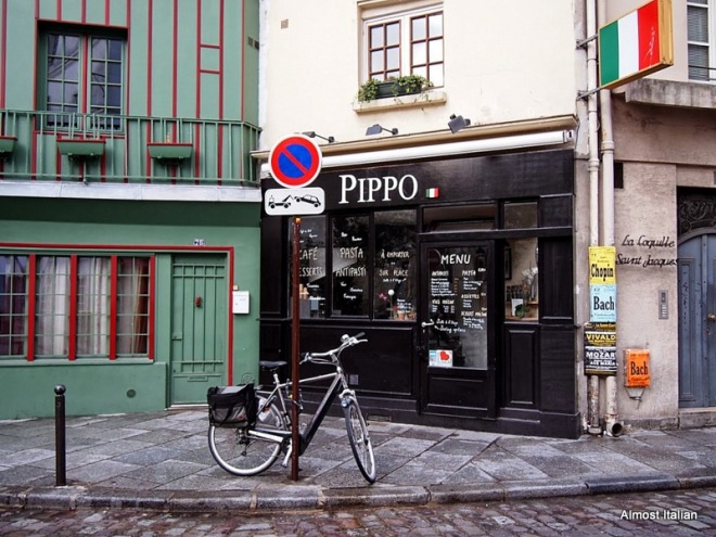 French meets Italian at Pippo en paris