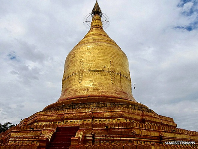 My Myanmar, a thousand golden pagodas