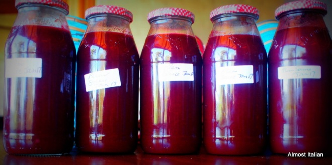 Plum sauce, batch 1