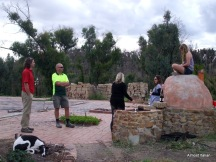 Another gathering at our place. we went often to care for the bush and remove weeds.