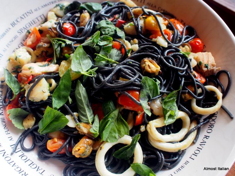 A quick Spagetti marinara