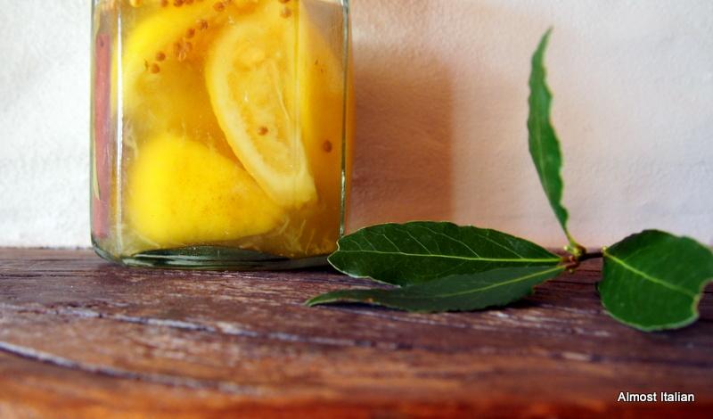 Preserved lemons, bridging the lemon gap.