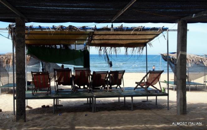 Lang Co beach huts