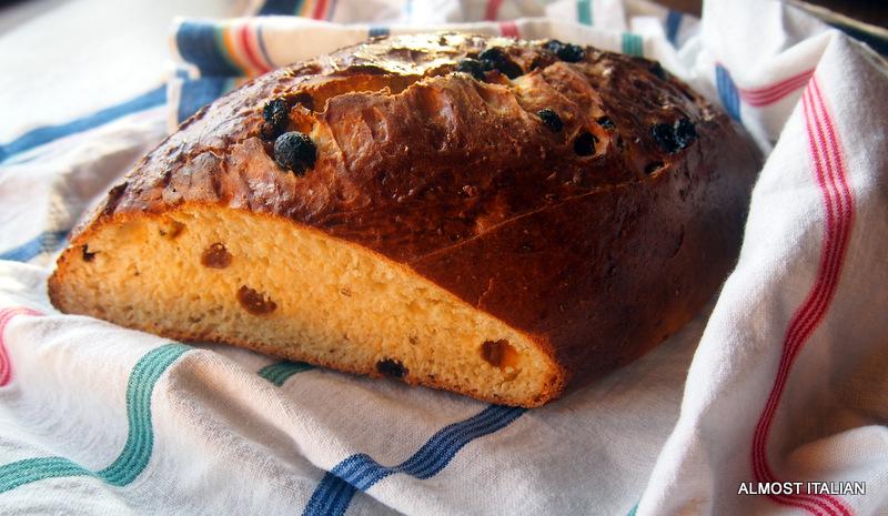 Sourdough Buccellato. Fruit Bread fromLucca