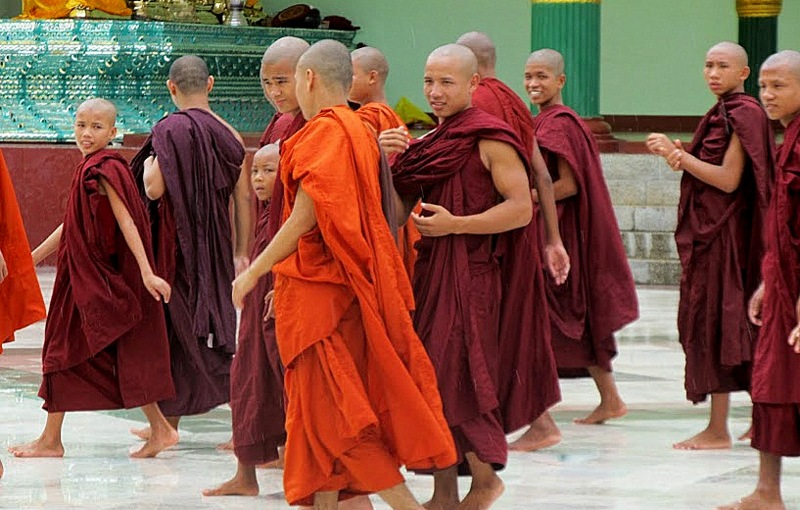 Young Monks ofMyanmar
