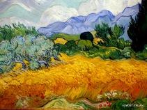 Detail from Van Gogh, Seasons, NGV