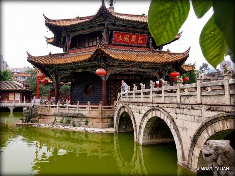 Bridges of Yuantong Temple, Kunming,China