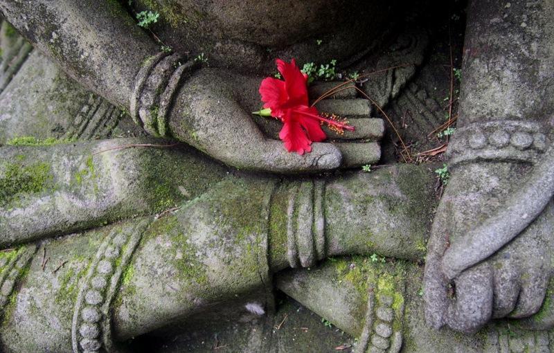 In a Balinese Garden.Ubud