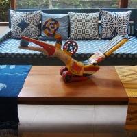 Indigo House, Ubud. Textile Lover's Paradise