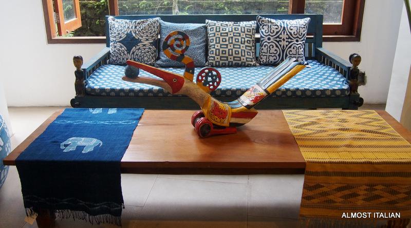 Indigo House, Ubud. Textile Lover'sParadise