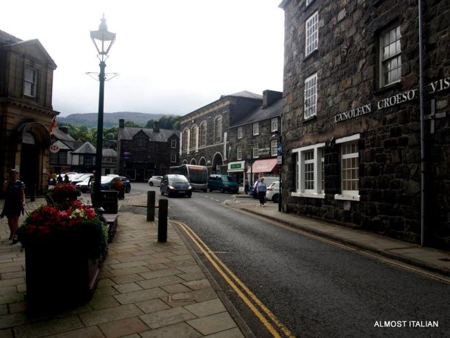 Streets of Dolgellau, Wales