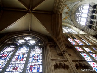 The Minster and stained glass