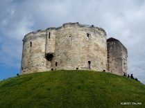 Clifford's tower, York.