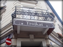 Trojkat, home of organic vodka, Krakow.