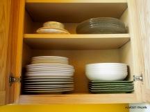 Plenty of quality tableware.