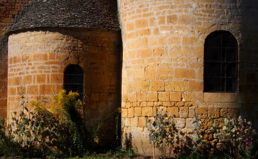 A Village Church at Saint-Léon-sur-Vézère, Dordogne