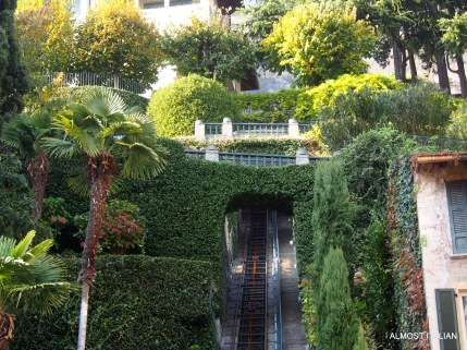 Stairway to heaven? A funicular to elevated garden!
