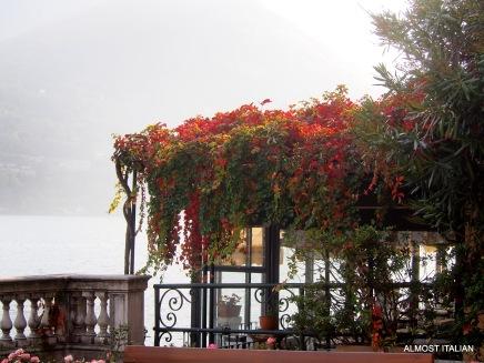 One of our favourite restaurants, Fioroni, Urio. Lake Como