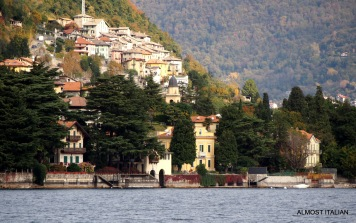 Gardens bordering the lake, best viewed from the ferry.