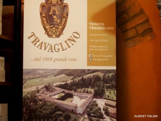 Travaglino, the village that became a winery.