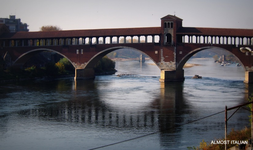 One week in Pavia. Part 1, PonteCoperto