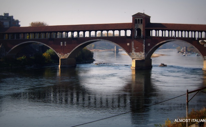 One week in Pavia. Part 1, Ponte Coperto