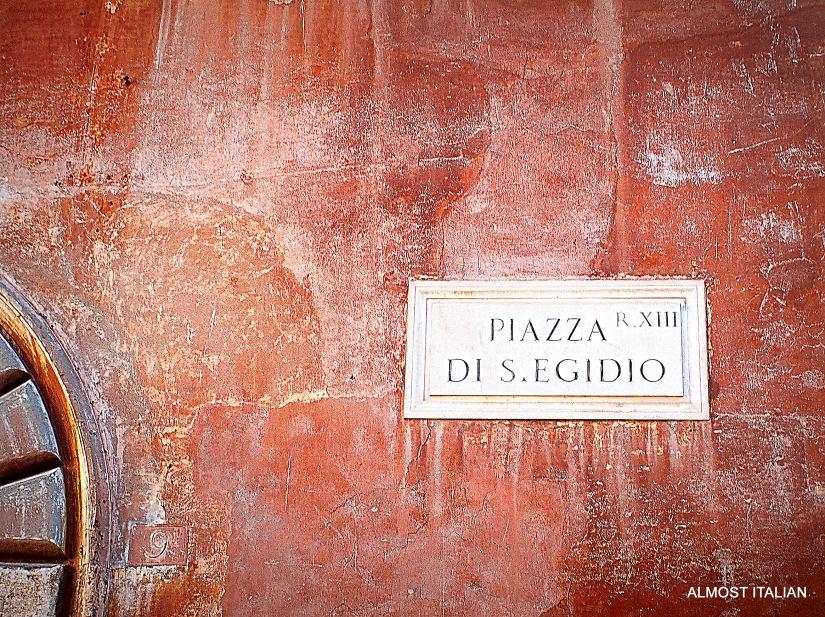 Over the Bridge to Trastevere,Rome