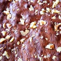 Simple Chocolate Brownies for La Befana