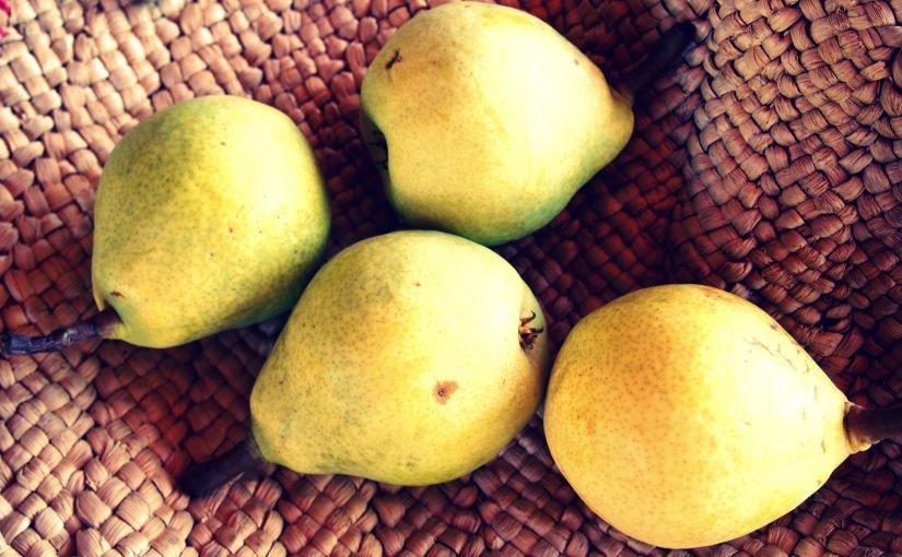 Pear Windfall and Italian PearCake