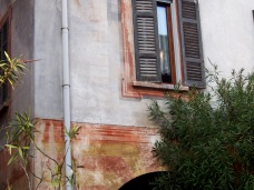 Painted walls, Laglio