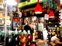 Prosecco and wine corner